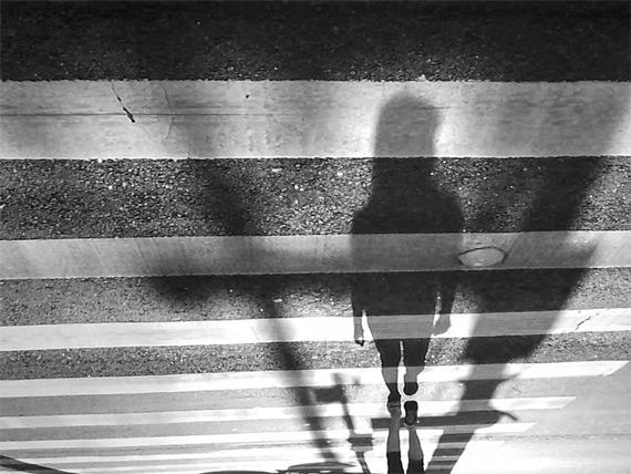 shadow on street