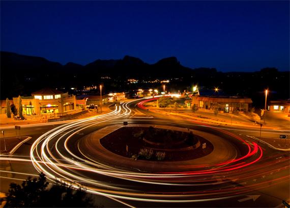 night long shutter speed exposure