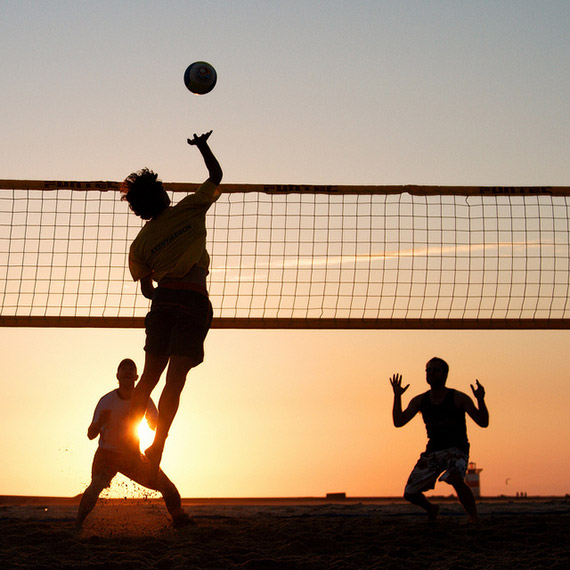 beach volleyball photography