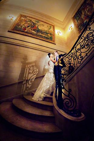 indoor wedding photography