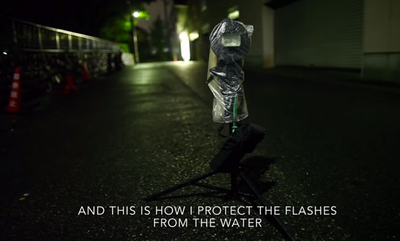 how to protect your flash in the rain