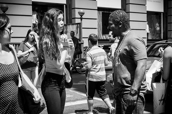 street photography confrontation