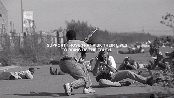 supporting war photographers