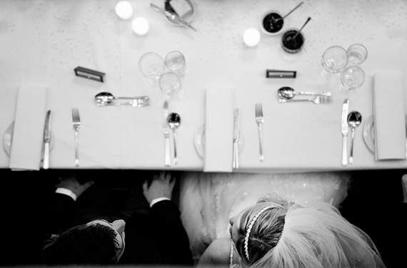 point of view wedding photo