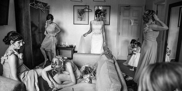 wedding photo composition technique