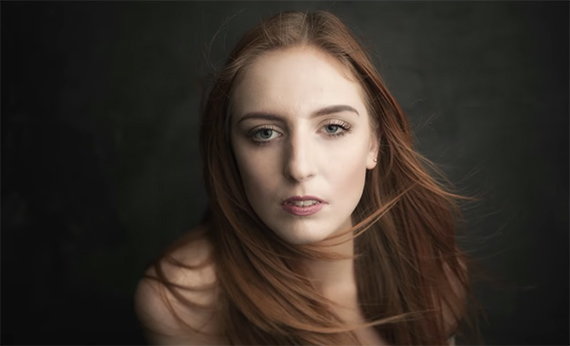 use nd filter for shallow depth of field in studio