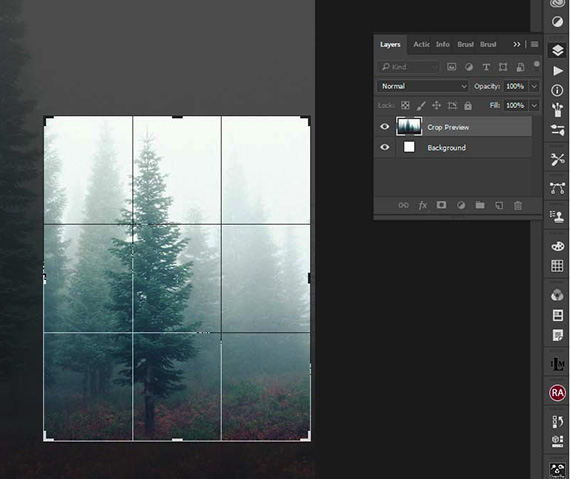 fog photo post process