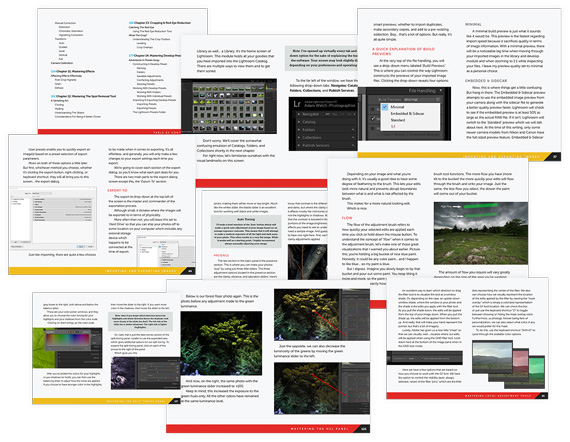 pages lightroom mastery