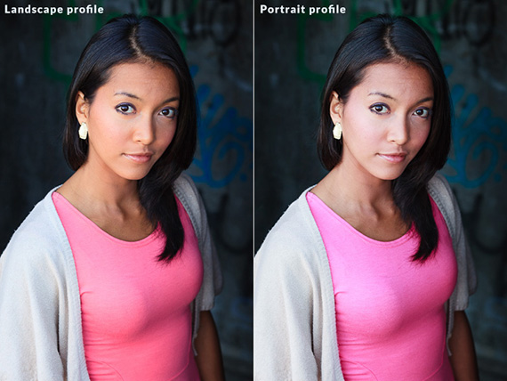 profile settings lightroom
