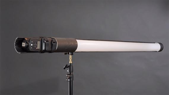 how to make a light saber strip light