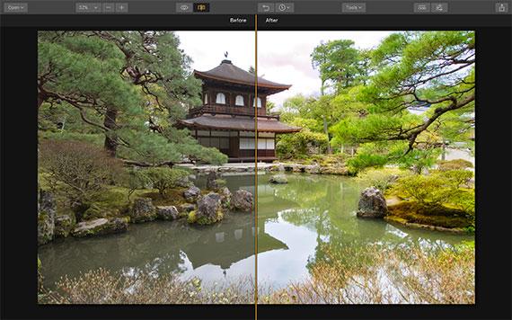 editing travel photography