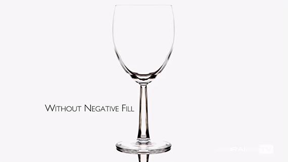 no negative fill