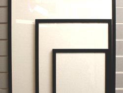 A3 Readymade Frame Black