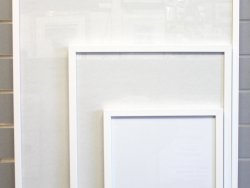 A2 Readymade Frame White