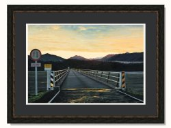 Haast West Coast Sunrise Ltd Edition Framed Print by Grant McSherry