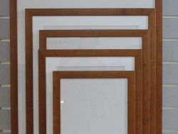 A2 Readymade Frame Distressed Rimu Stain