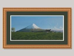 Mt Taranaki/Egmont Landscape Ltd Edition Framed Print by Grant McSherry