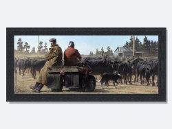 Rush Hour Framed Print by Barry Ross Smith