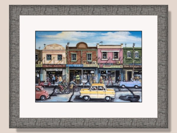 Street City Framed Print by Steven Sacatos
