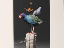 Post Matted Print by Barry Ross Smith