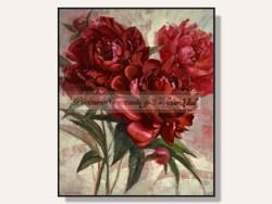 Red Peonies Framed Print by Svetlana Orinko