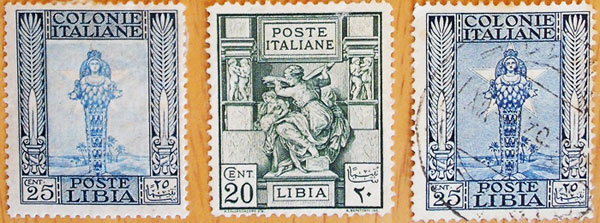 Libyan Goddess stamp