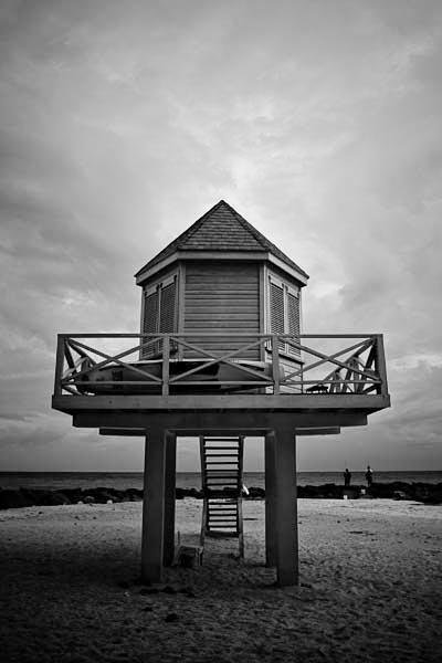 Needham Point Barbados Black and White