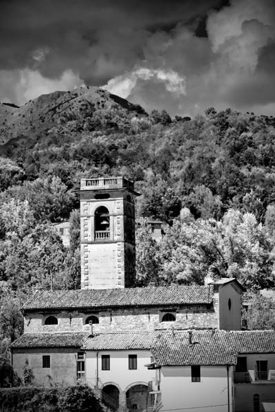 Tuscany Italy Black And White Photography