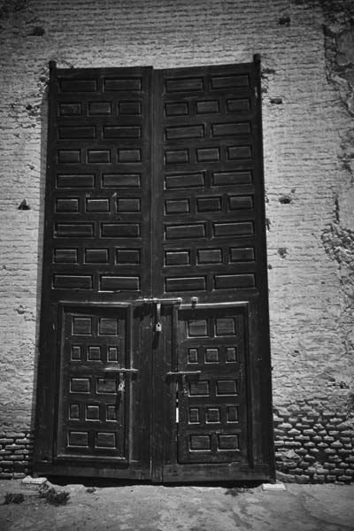Black and White Marrakesh