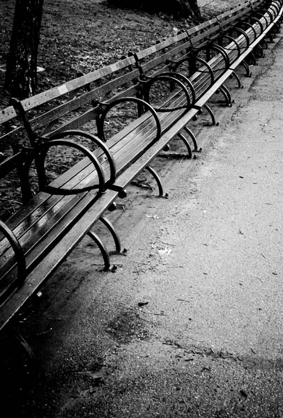Benches in Central, New York