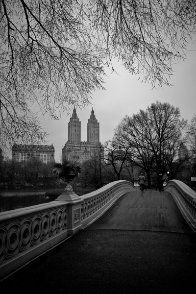 Central Park, Bow Bridge, New York