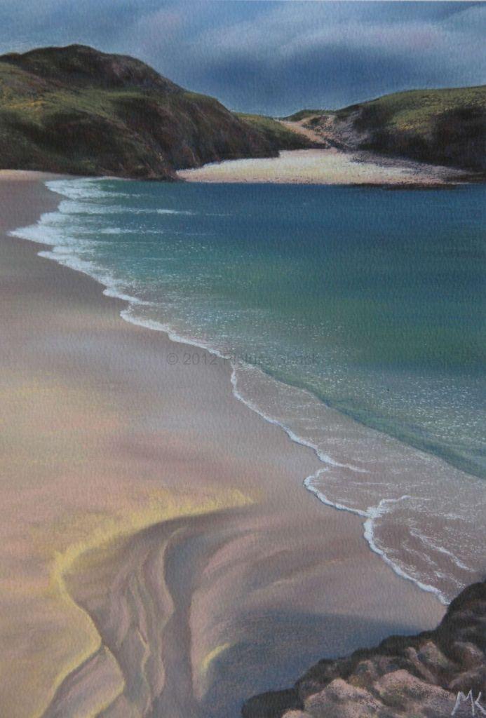 Clachtoll Beach - Scotland Landscape Painting
