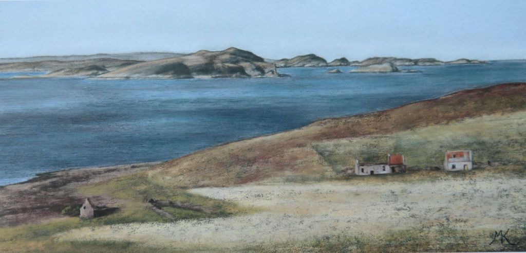 Ruins at Achlochan - Scotland Landscape Painting