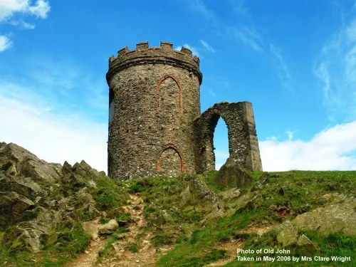 Old John Tower In Bradgate Park Leicester By Clare