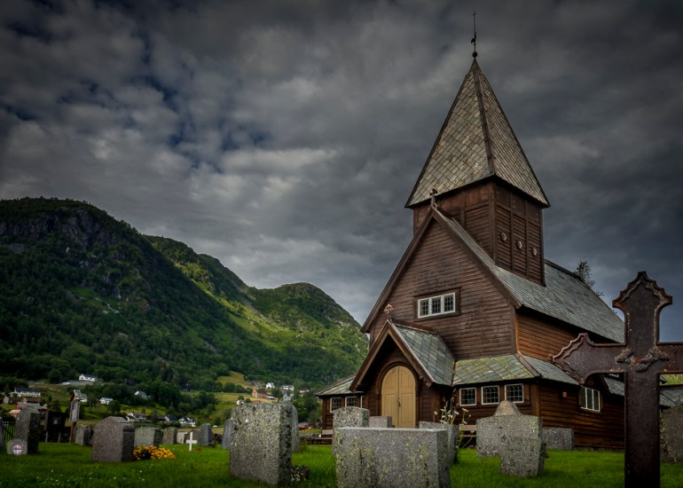 Røldal Stabkirche