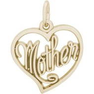 Mothers Heart Charm
