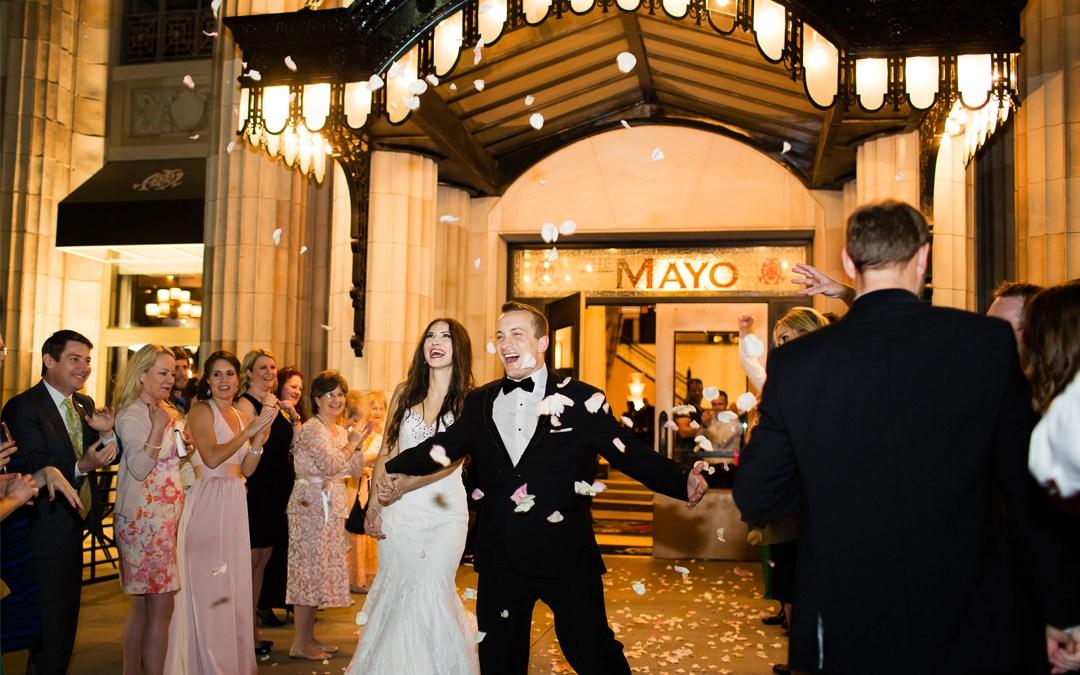 Matt + Wioleta | Mayo Hotel Wedding | Tulsa, Oklahoma