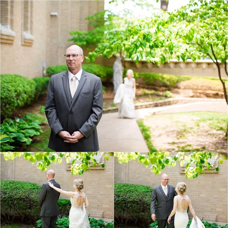 Christ the King Catholic Church Wedding Cain's Ballroom Reception Tulsa Oklahoma_0016