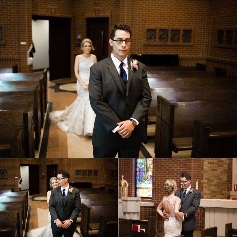 Christ the King Catholic Church Wedding Cain's Ballroom Reception Tulsa Oklahoma_0018