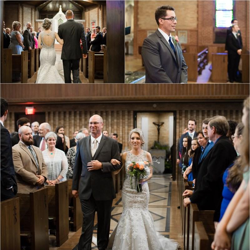 Christ the King Catholic Church Wedding Cain's Ballroom Reception Tulsa Oklahoma_0026