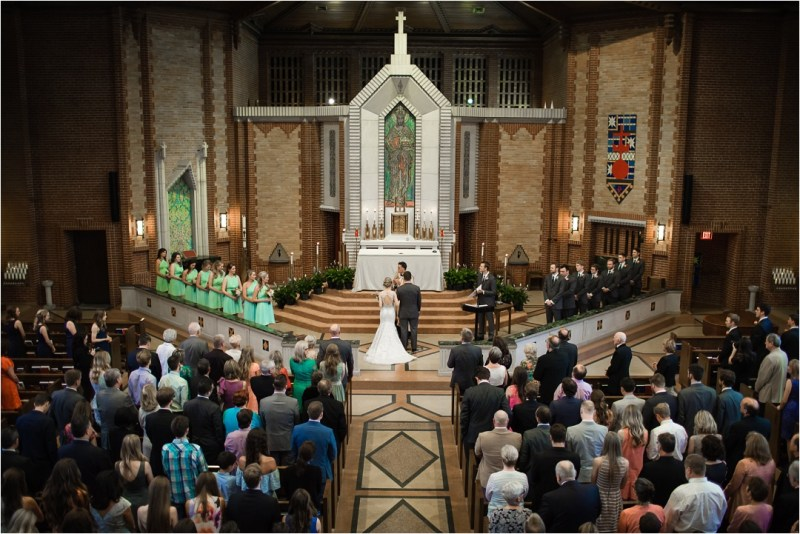 Christ the King Catholic Church Wedding Cain's Ballroom Reception Tulsa Oklahoma_0029