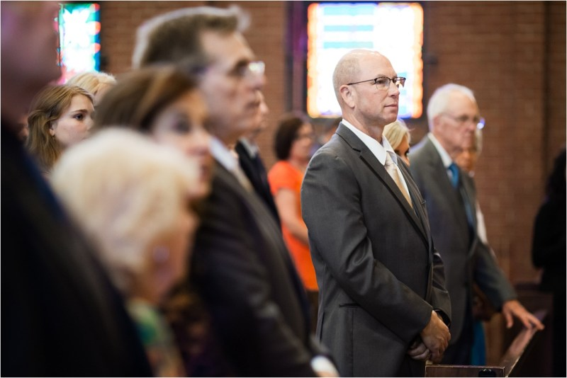 Christ the King Catholic Church Wedding Cain's Ballroom Reception Tulsa Oklahoma_0033
