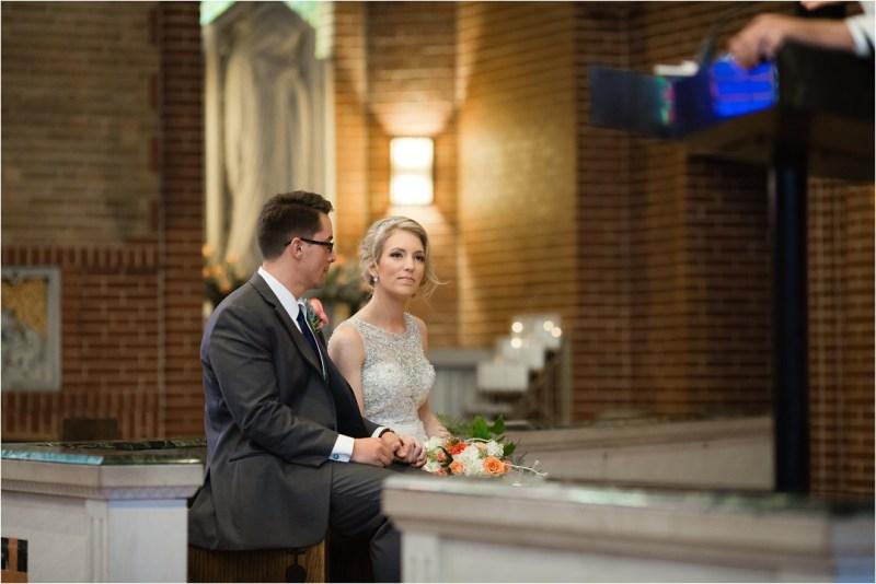 Christ the King Catholic Church Wedding Cain's Ballroom Reception Tulsa Oklahoma_0034
