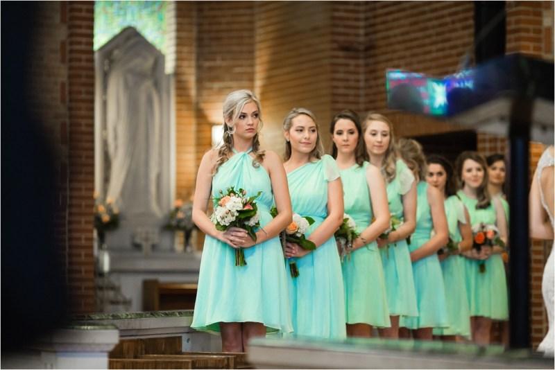 Christ the King Catholic Church Wedding Cain's Ballroom Reception Tulsa Oklahoma_0035