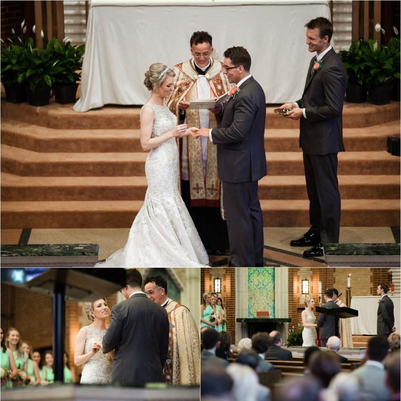 Christ the King Catholic Church Wedding Cain's Ballroom Reception Tulsa Oklahoma_0036