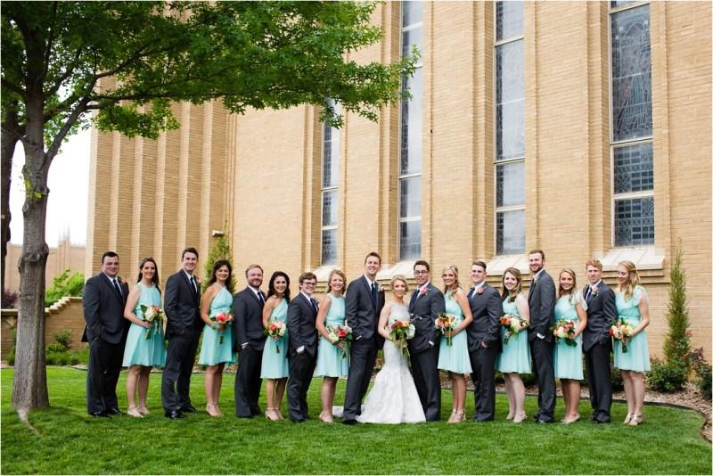 Christ the King Catholic Church Wedding Cain's Ballroom Reception Tulsa Oklahoma_0044