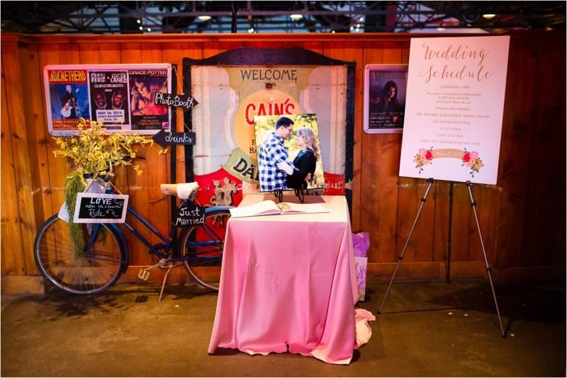 Christ the King Catholic Church Wedding Cain's Ballroom Reception Tulsa Oklahoma_0049