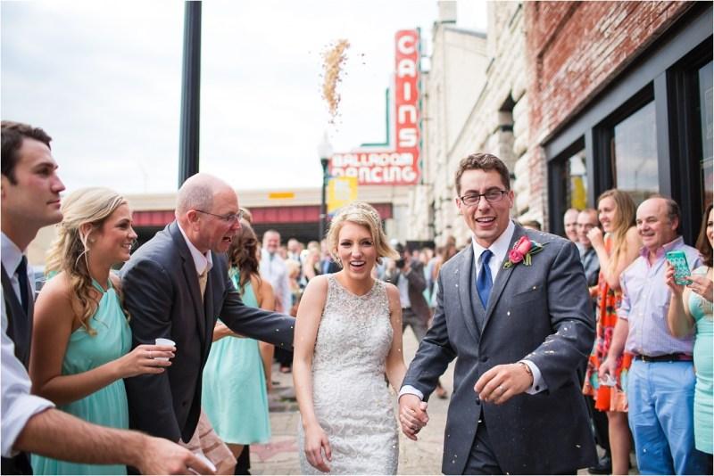 Christ the King Catholic Church Wedding Cain's Ballroom Reception Tulsa Oklahoma_0080