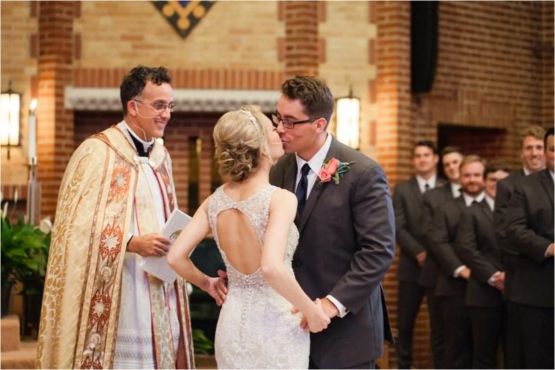 Christ the King Catholic Church Wedding Cain's Ballroom Reception Tulsa Oklahoma_0082