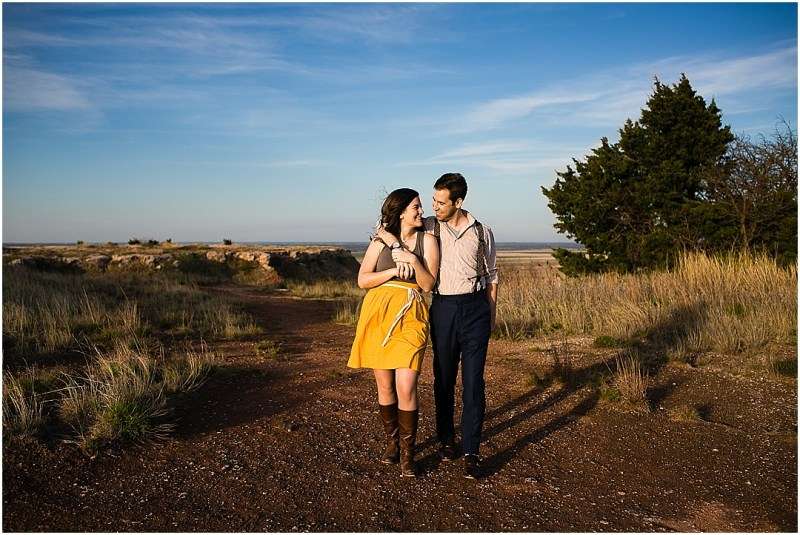 Gloss Mountain State Park Engagement Session Enid Oklahoma Tulsa Wedding_0078